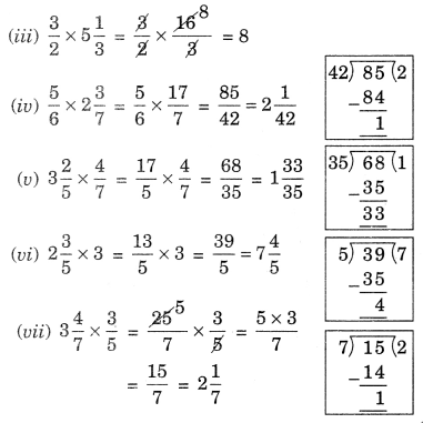 NCERT Solutions for Class 7 Maths Chapter 2 Fractions and Decimals Ex 2.3 7
