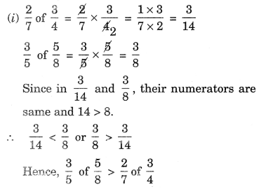 NCERT Solutions for Class 7 Maths Chapter 2 Fractions and Decimals Ex 2.3 9
