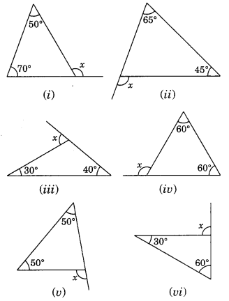 NCERT Solutions for Class 7 Maths Chapter 6 The Triangle and ...
