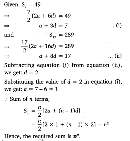 Arithmetic Progression Class 10 NCERT Solutions Pdf Ex 5.3 Q9