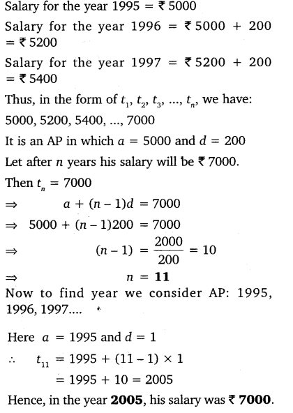 Ch 5 Maths Class 10 NCERT Solutions Arithmetic Progression Ex 5.2 Q19