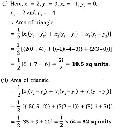 Coordinate Geometry Class 10 Maths NCERT Solutions Ex 7.2 PDF Download Q1