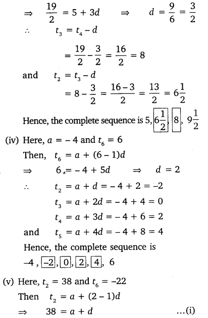 Ex 5.2 Class 10 Maths NCERT Solutions Arithmetic Progression Q3.1