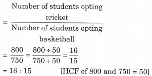 NCERT Solutions For Class 6 Maths Chapter 12 Ratios and Proportions