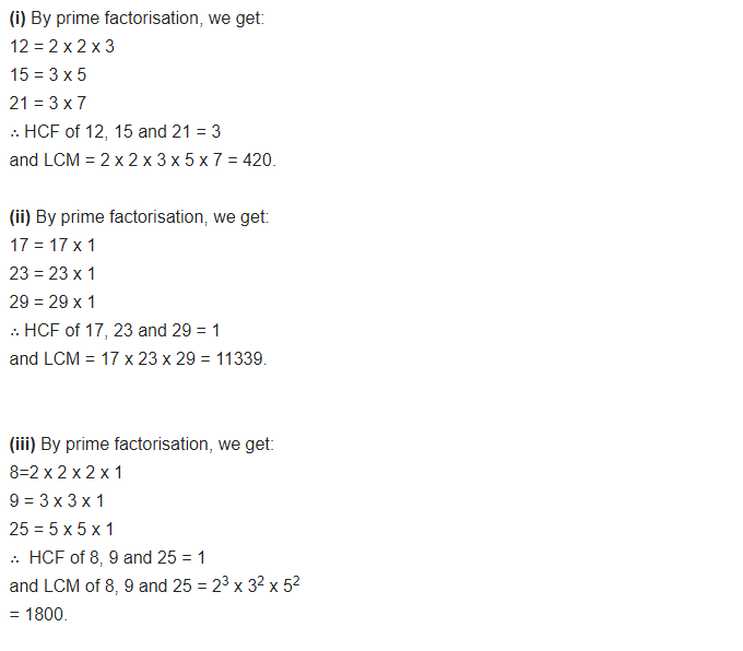cbse class 10 maths exercise 1.2 solutions