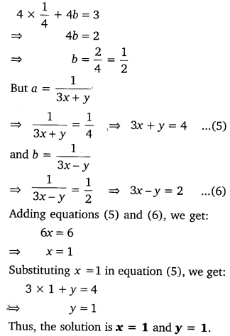 NCERT Solutions for Class 10 Maths Chapter 3 Pdf Pair Of Linear Equations In Two Variables Ex 3.6 Q1.11