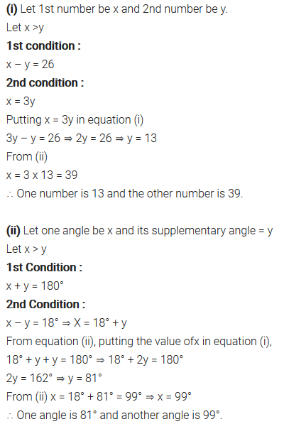Pair Of Linear Equations In Two Variables Class 10 Maths NCERT Solutions Ex 3.3 Q3
