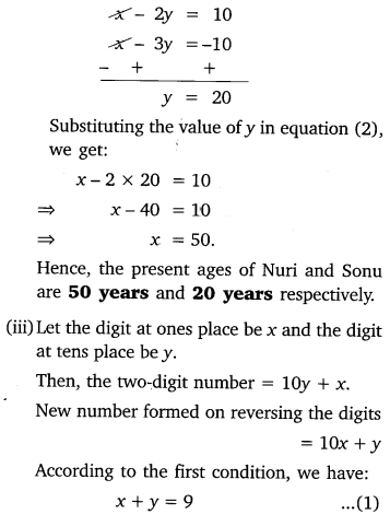 Pair Of Linear Equations In Two Variables Class 10 Maths NCERT Solutions Ex 3.4 Q2.2
