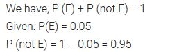 Probability Class 10 Maths NCERT Solutions Ex 15.1 pdf download Q5
