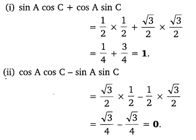 Trigonometry Class 10 Chapter 8 Exercise 8.1 NCERT Solutions PDF Q9.1