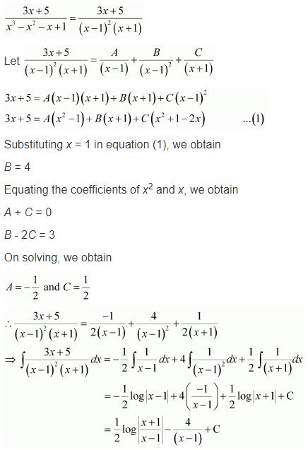 Class 12 Integration NCERT Solutions Ex 7.5 Q 9