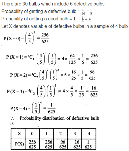 Maths NCERT Solutions Chapter 13 Probability Ex 13.4 Q 6