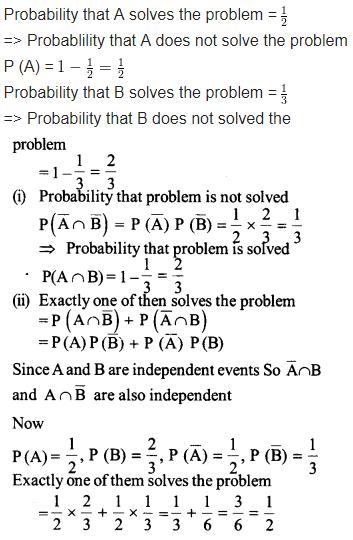 NCERT Solutions Class 12 Maths Chapter 13 Probability Ex 13.2 Q 14