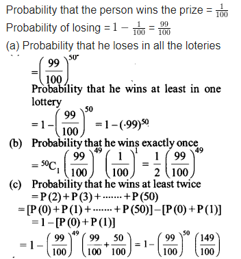 Probability Class 12 Maths NCERT Solutions Chapter 13 Ex 13.5 Q 10