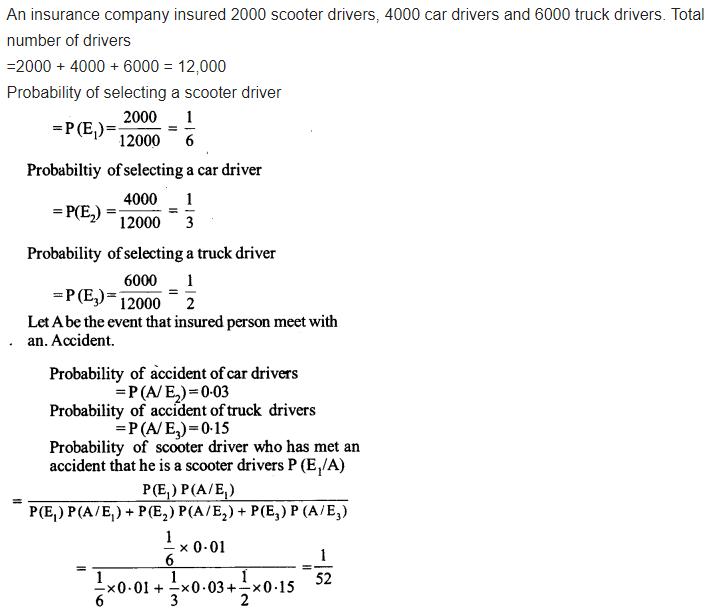 Probability Class 12 Maths NCERT Solutions Ex 13.3 Q 7