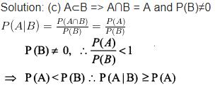 Probability Maths Class 12 NCERT Solutions Ex 13.3 Q 14