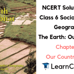 NCERT Solutions for Class 6 Social Science Geography Chapter 7 Our Country India