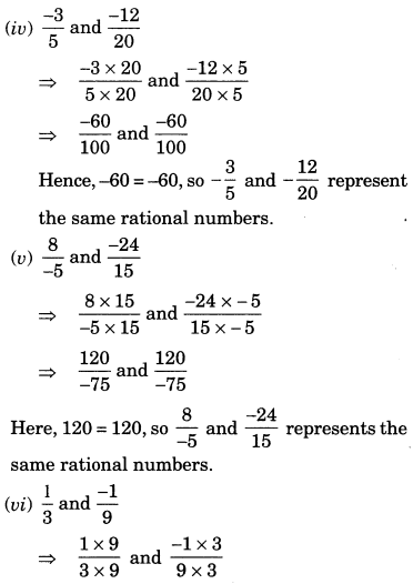 NCERT Solutions for Class 7 Maths Chapter 9 Rational Numbers 22