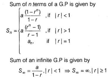 Sequences and Series Class 11 Notes Maths Chapter 9