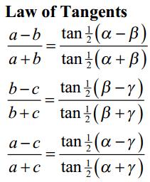 Inverse Trigonometric Function Formulas 4