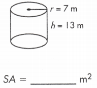 Surface Area of Hollow Cylinder 9