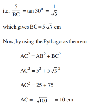 Trig Table Problem 1
