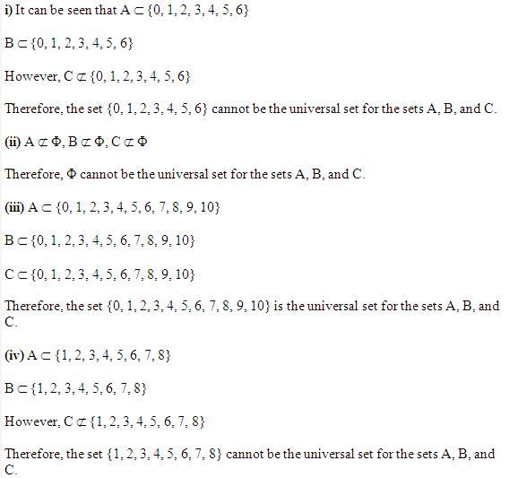 sets class 11 Ex 1.3 Q 9