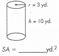 total surface area of a cylinder calculator