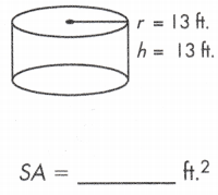 total surface area of a cylinder formula