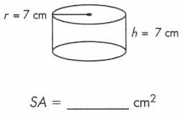 total surface area of a cylinder