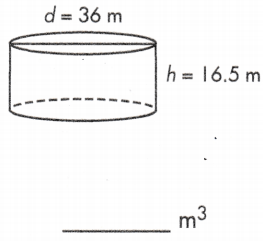 volume of a circle cylinder