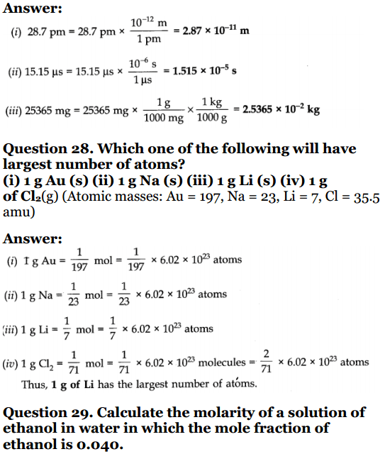 NCERT-Solution-for-Class-11-Chemistry-Chapter-1-Q11