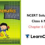 NCERT Solutions for Class 6 Maths Chapter 6 Integers