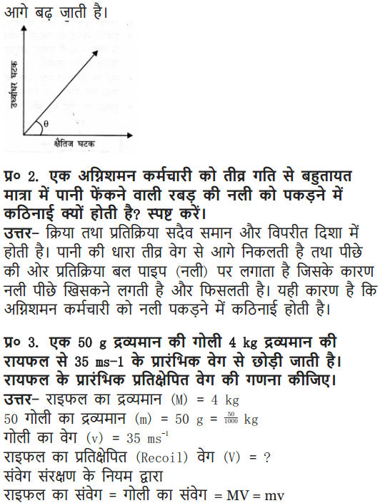 NCERT Solutions for Class 9 Science Chapter 9 Force and Laws of Motion Hindi Medium 4
