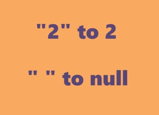 String To Nullable Int