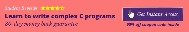 Best C Programming course on Udemy