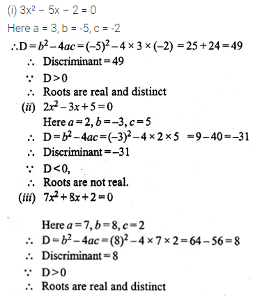 ML Aggarwal Class 10 Solutions for ICSE Maths Chapter 5 Quadratic Equations in One Variable Ex 5.4