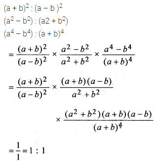 ML Aggarwal Class 10 Solutions for ICSE Maths Chapter 7 Ratio and Proportion Chapter Test