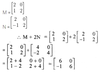 ML Aggarwal Class 10 Solutions for ICSE Maths Chapter 8 Matrices Ex 8.2