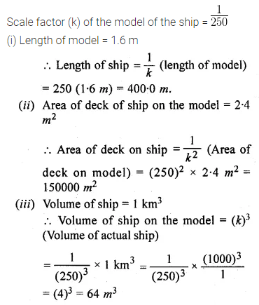 ML Aggarwal Class 10 Solutions for ICSE Maths Chapter 13 Similarity Chapter Test