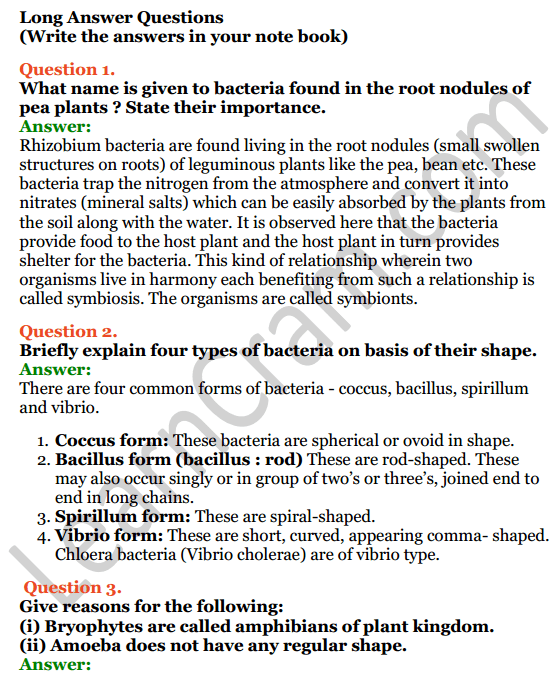 Selina Concise Biology Class 7 ICSE Solutions Chapter 2 Classification of Plants 7