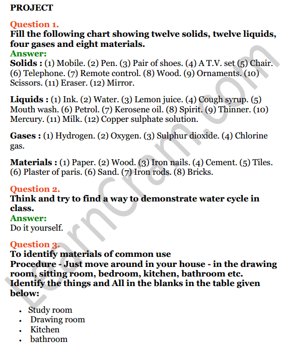 Selina Concise Chemistry Class 6 ICSE Solutions Chapter 3 Matter 16