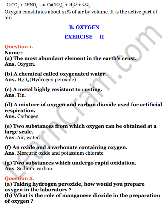 Selina Concise Chemistry Class 7 ICSE Solutions Chapter 7 Air and Atmosphere 5