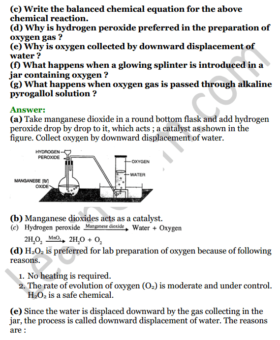 Selina Concise Chemistry Class 7 ICSE Solutions Chapter 7 Air and Atmosphere 6