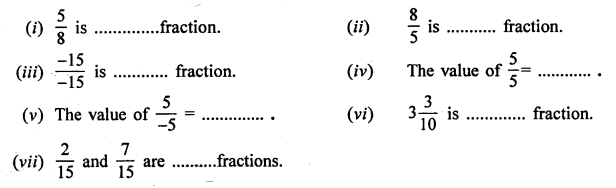 Selina Concise Mathematics Class 6 ICSE Solutions Chapter 14 Fractions Ex 14A Q2