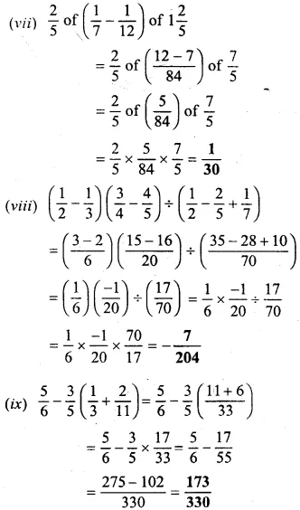 Selina Concise Mathematics Class 6 ICSE Solutions Chapter 14 Fractions Ex 14D 40