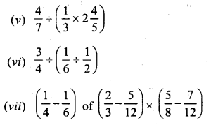 Selina Concise Mathematics Class 6 ICSE Solutions Chapter 14 Fractions Ex 14D Q4.1