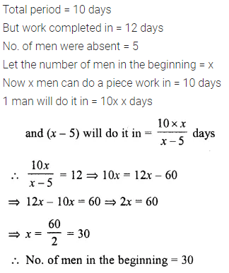 Selina Concise Mathematics Class 8 ICSE Solutions Chapter 10 Direct and Inverse Variations Ex 10D 46