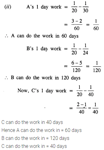 Selina Concise Mathematics Class 8 ICSE Solutions Chapter 10 Direct and Inverse Variations Ex 10E 62