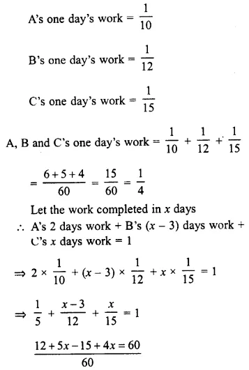 Selina Concise Mathematics Class 8 ICSE Solutions Chapter 10 Direct and Inverse Variations Ex 10E 63